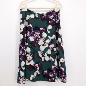BANANA REPUBLIC Sweet Pea Print Swing Skirt